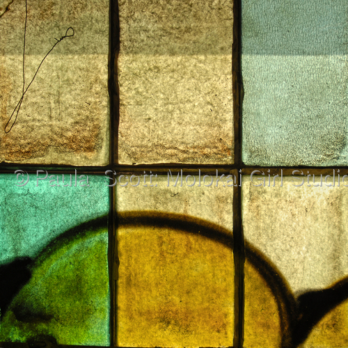 Abstract 10 by Paula  Scott: Molokai Girl Studio
