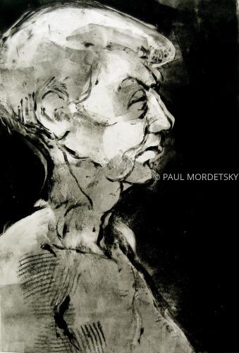 Head Of A Woman 2 by PAUL MORDETSKY