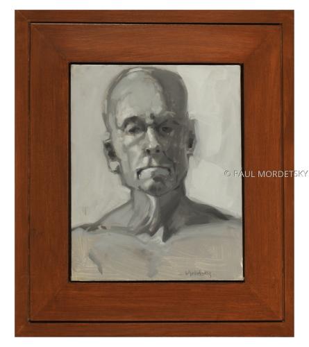 Man's Head 1 by PAUL MORDETSKY