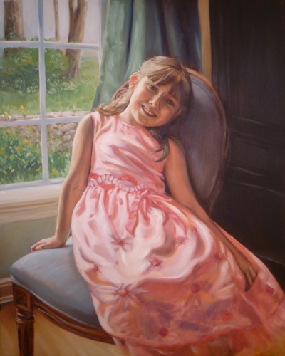 Seated Portrait by Sarah Pogue