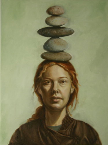 Stone Cairn by Sarah Pogue