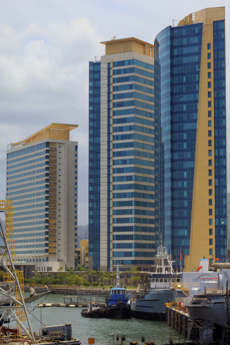 Waterfront Buildings