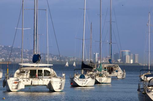 Yachts at Chag