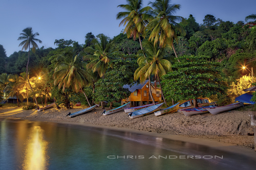 Night Beach Tobago