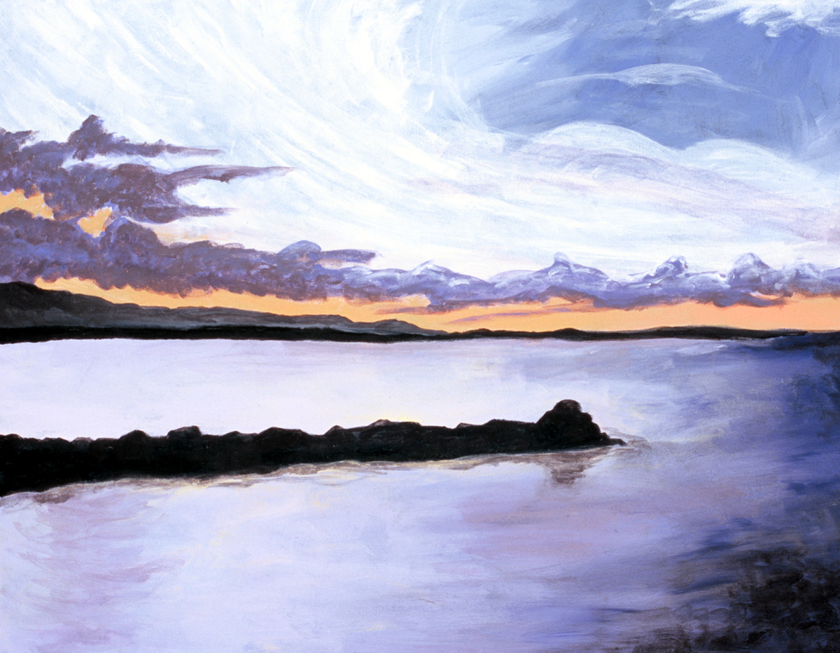 Carkeek Sunset (large view)