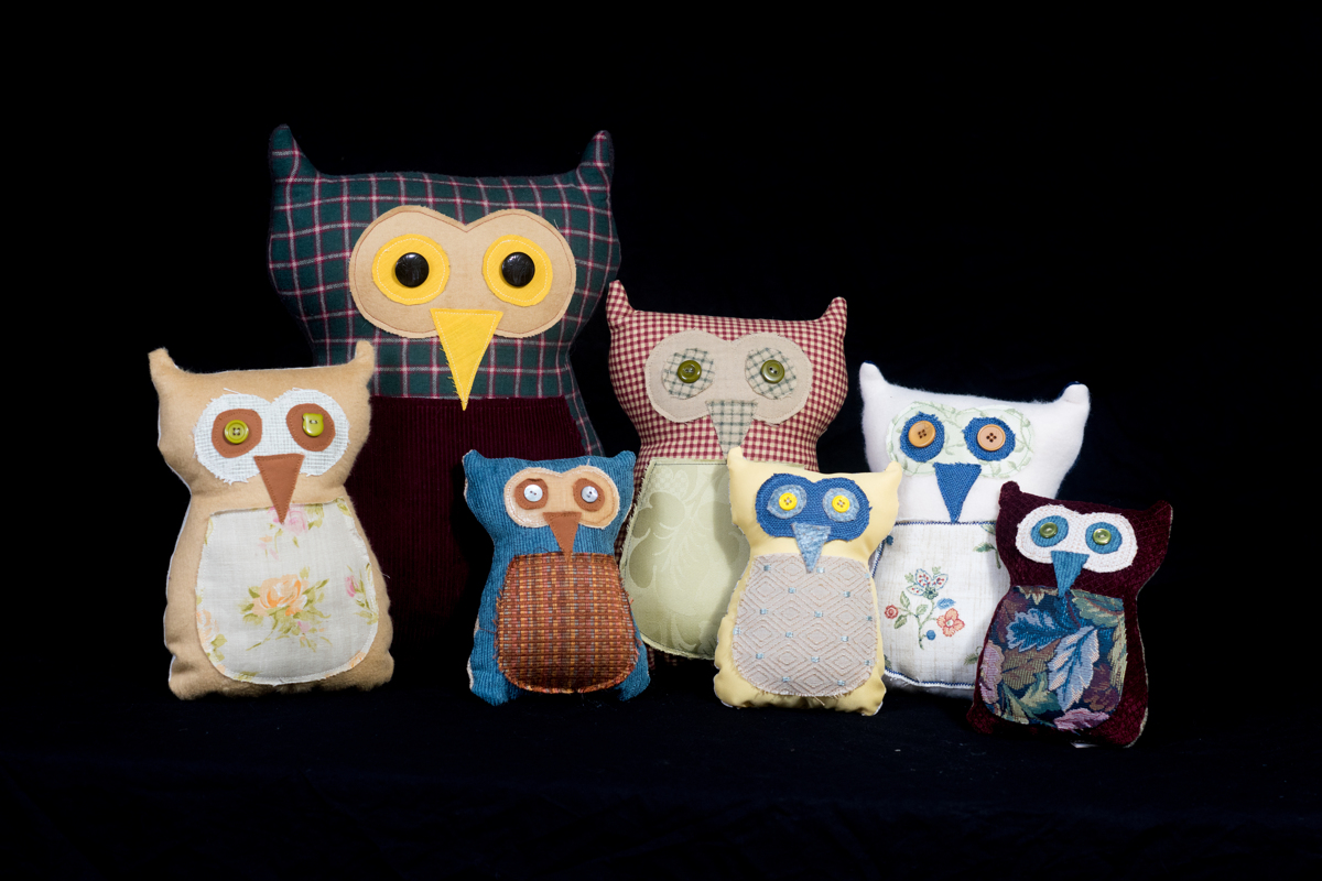 Owl Pillows-Assorted (large view)