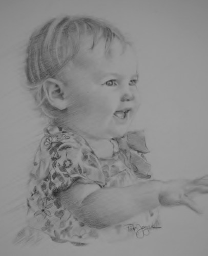 children's portrait artist, drawings of children ohio, ohio portrait artist, Cleveland ohio portrait artist, Cleveland ohio children's portrait artist (large view)