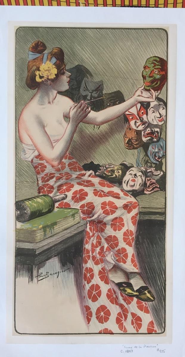 Femme de la Peinture (large view)