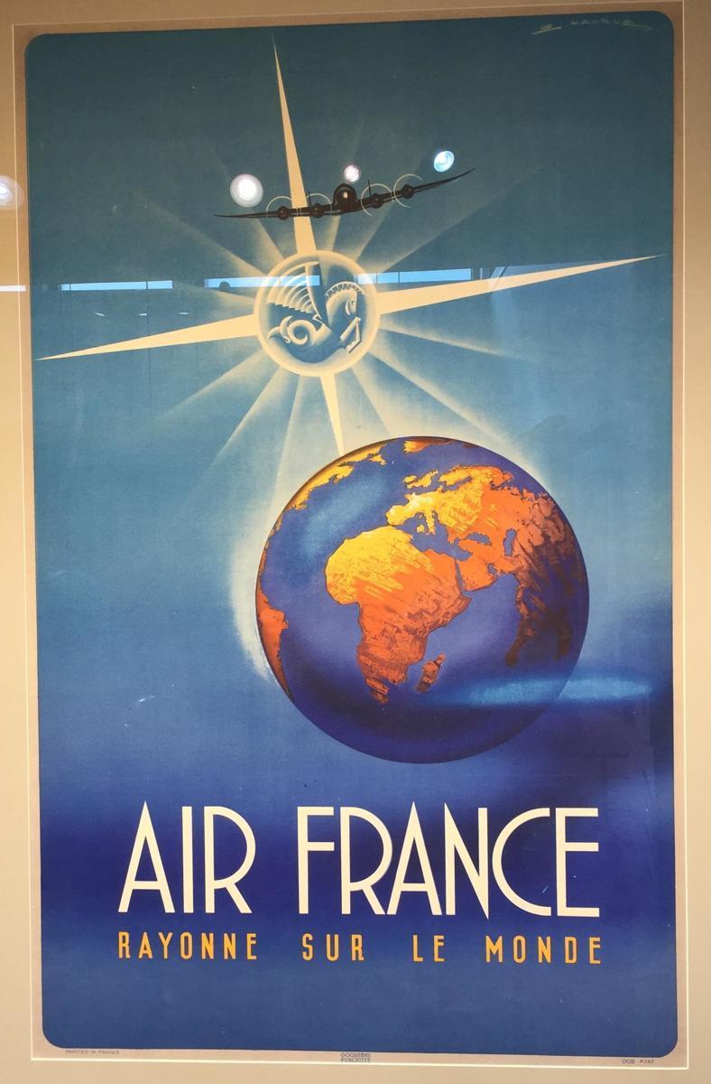 Air France Rayonne Sur le Monde (large view)
