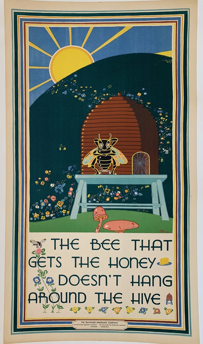 The Bee that Gets the Honey... (large view)
