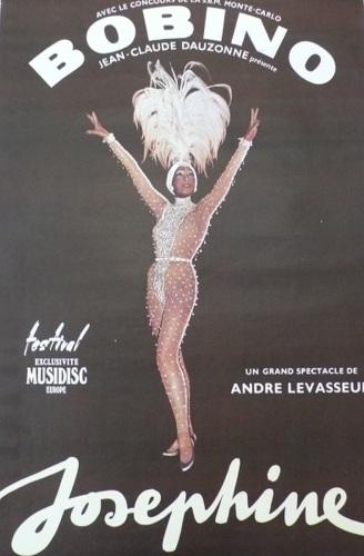 Bobino, Josephine, Baker, c.1970, 1970,  Entertainer, classic, original, poster (large view)