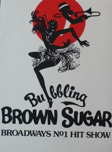 Bubbling Brown Sugar, Brown Sugar, British Theater, Poster, production, play, song, original,  (large view)