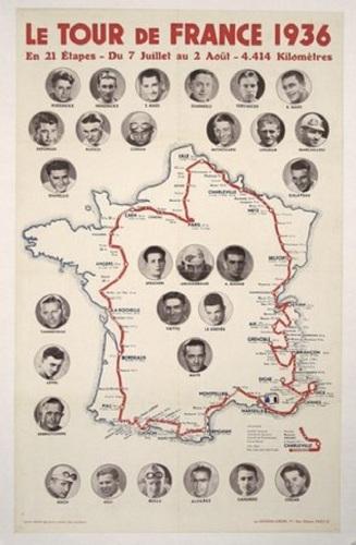 Le tour de france 1936 (large view)
