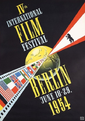 IVth International Film Festival- Berlin 1954 (large view)