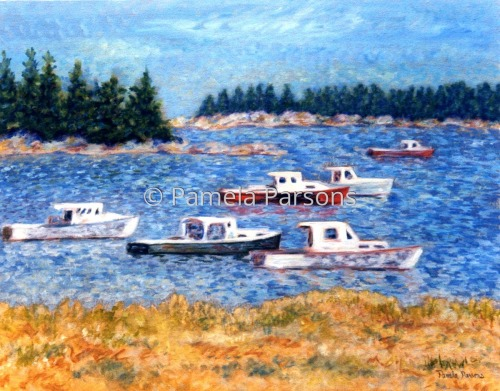 Boats in Maine