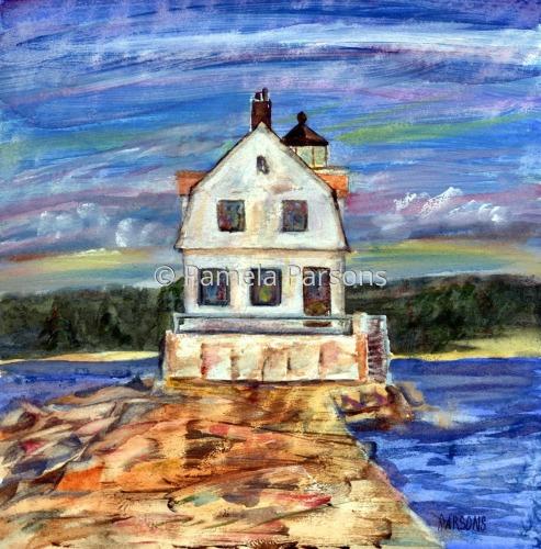 Rockland Lighthouse, Maine