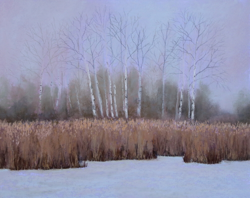 Winter Birches