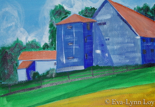 Blue Barn (large view)