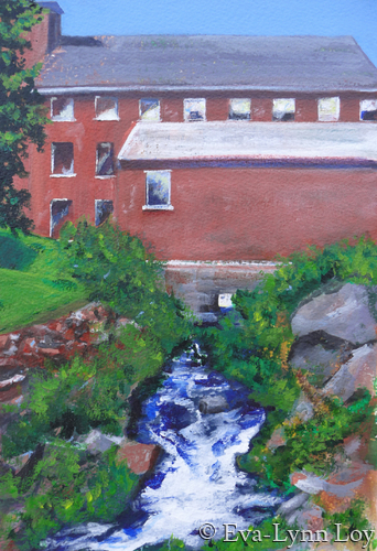 Harrisville Mill (large view)