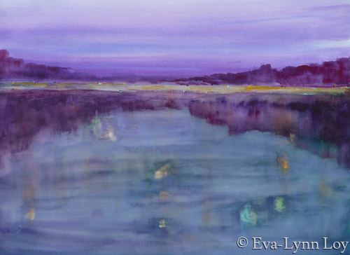 Nighttime Reflections by Eva-Lynn Loy