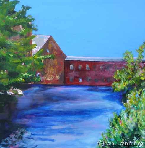 Mill on the River (large view)
