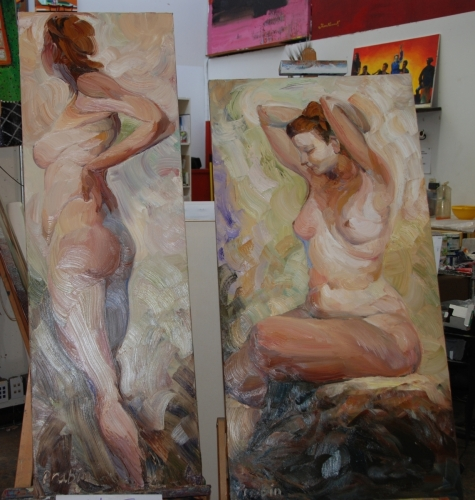 Two nude