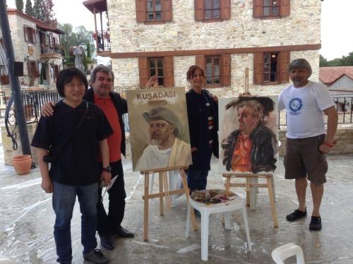 Exchange work with Nevai of Azarbaijan