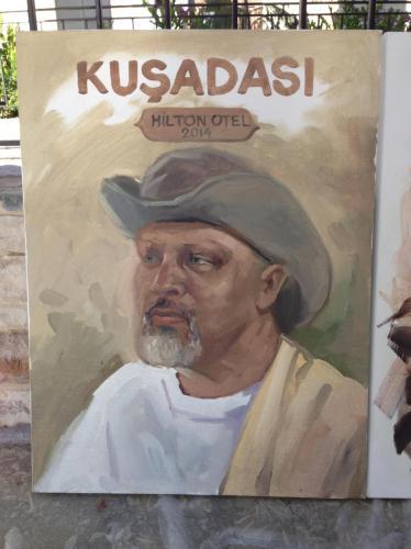 My portrait done by Nevai of Azarbaijan