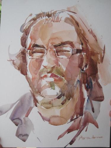 Portrait of Artist Mustafa, Turkey