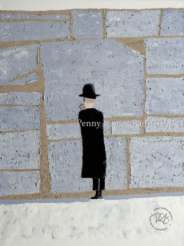 Rabbi at the Wall