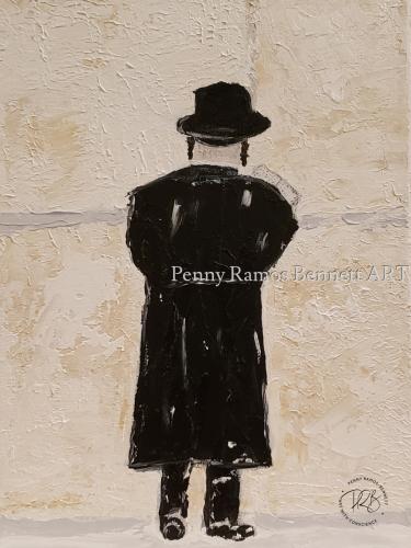 Prayer at the Wall #2