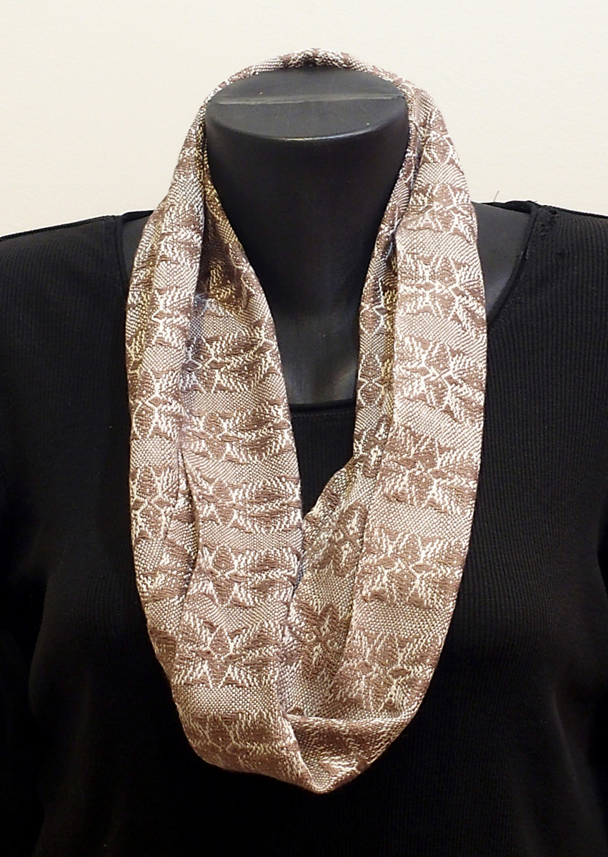 Handwoven Infinity Scarf # 4 (large view)