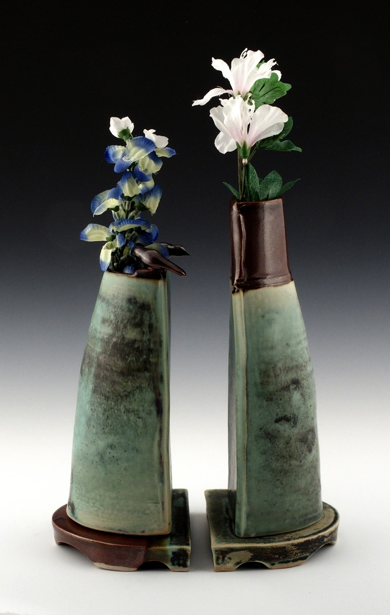 Double Bird Vase (large view)