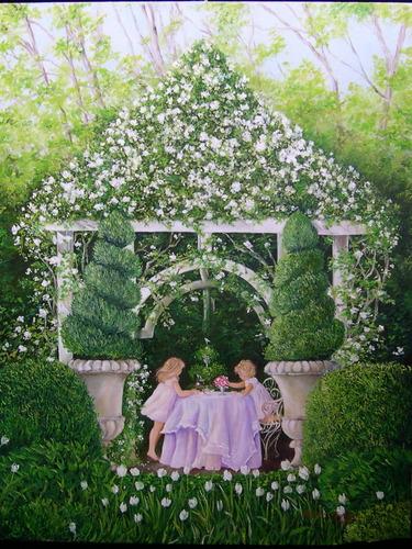 Tea Time by Priscilla George