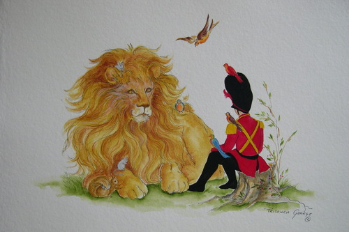 Tate the Toy Soldier with Lion