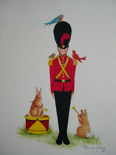 Tate the Toy Soldier with Drum