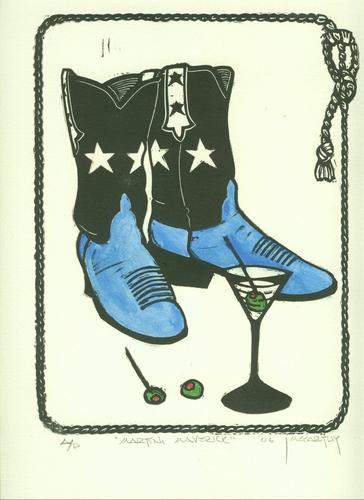 """""""Martini Maverick - Blue"""""""