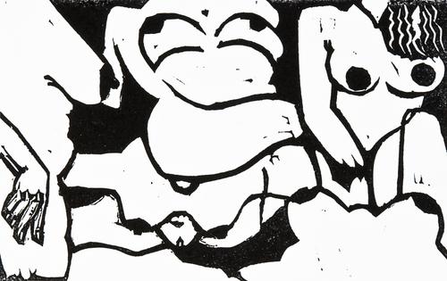 """Nudes - German Expressionism ala Santa Fe"""
