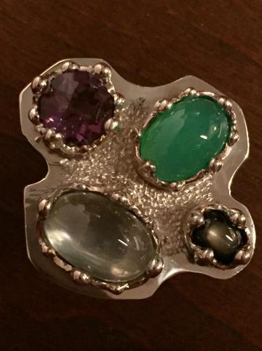 Artist Palette Ring