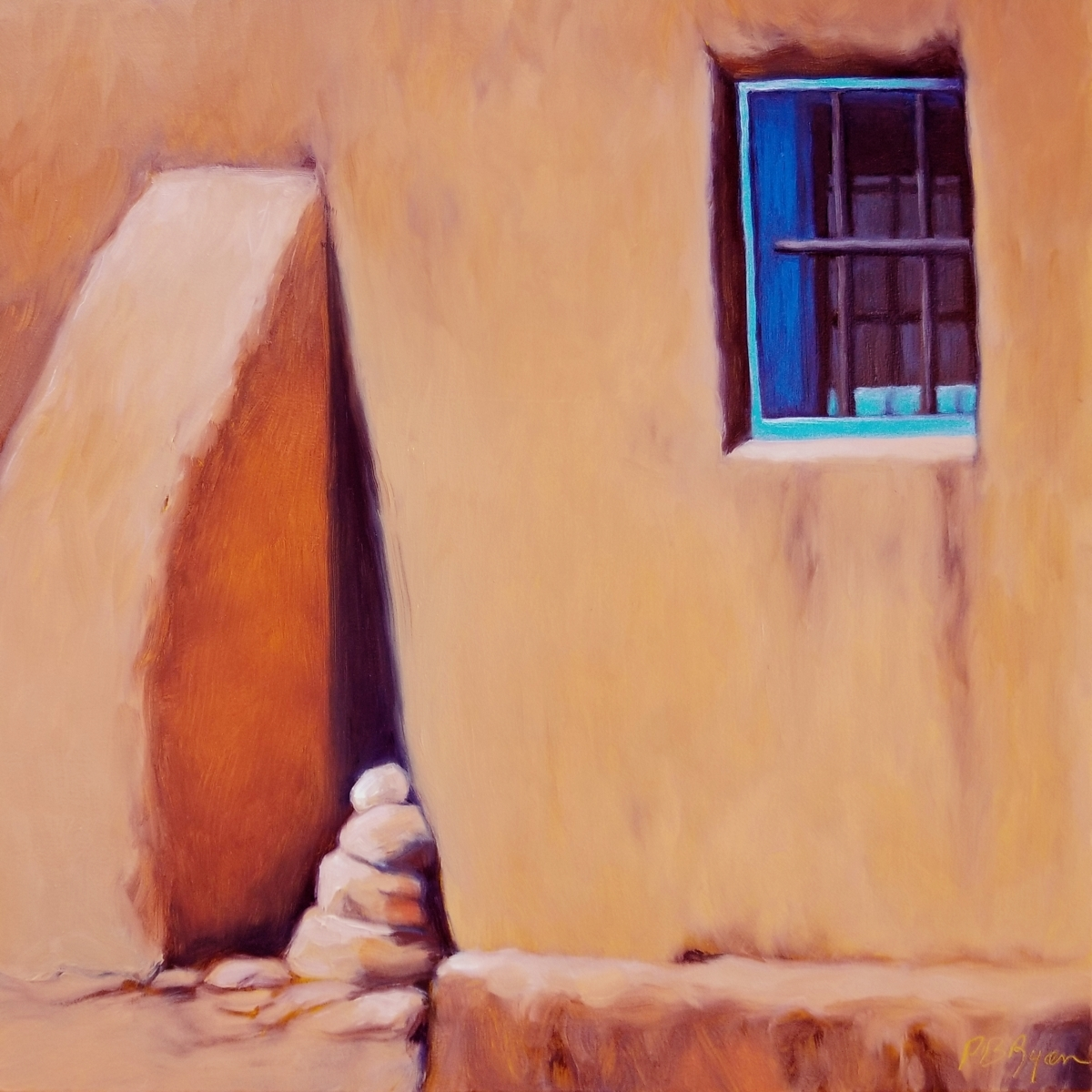 Blue Window, Taos Pueblo, New Mexico (large view)