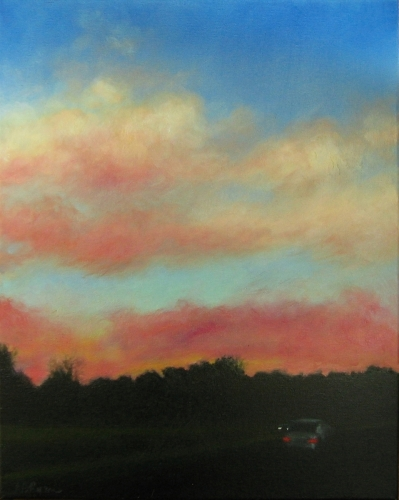 Dusk - Texas Hill Country by Patricia Burford Ryan