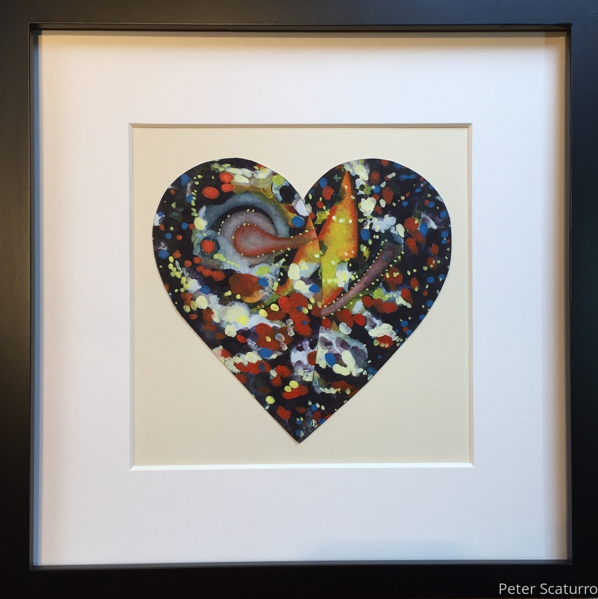 Heart Rising 23 - Framed - Donated to Women's March 2019 (large view)