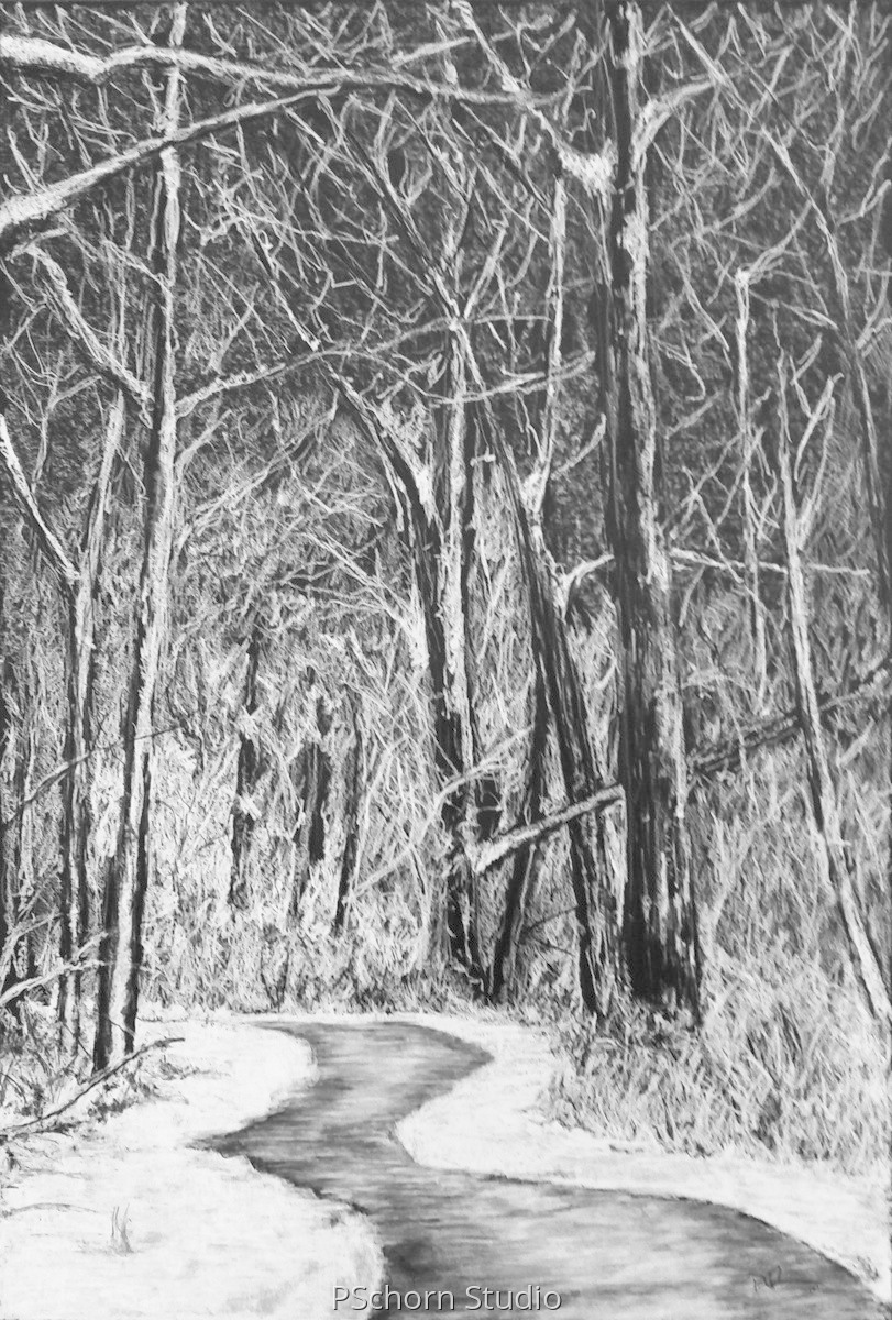 Winters Path (large view)