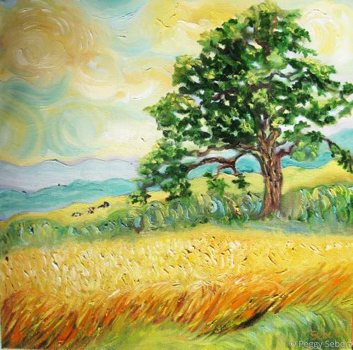 Van Gogh Visits Sonoma