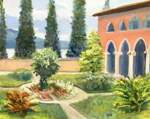 Monastery, Lake Garda