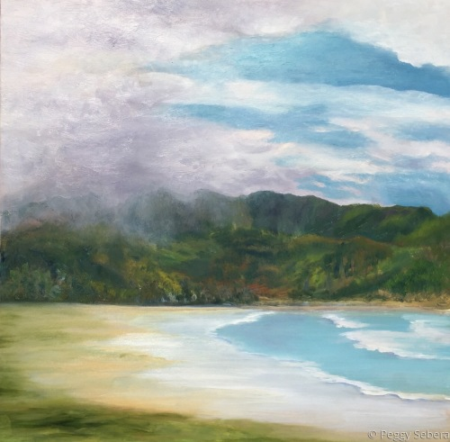 Hanalei Bay in the Rain