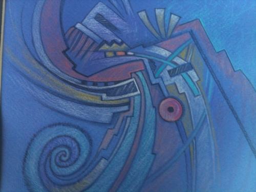 corn dancers by Original Hopi Artwork By Peter Shelton III