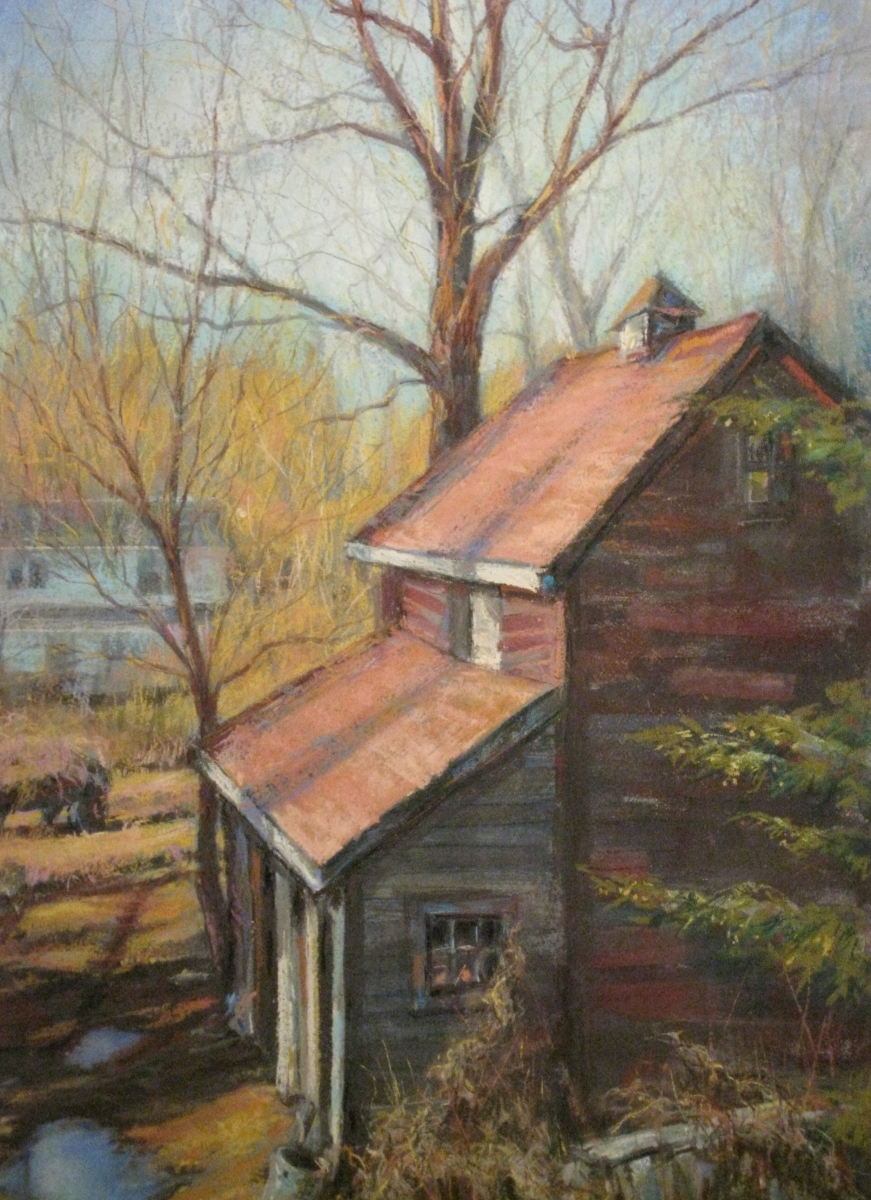 """Donna E. Cota - """"Almost Spring"""" - Honorable Mention (large view)"""