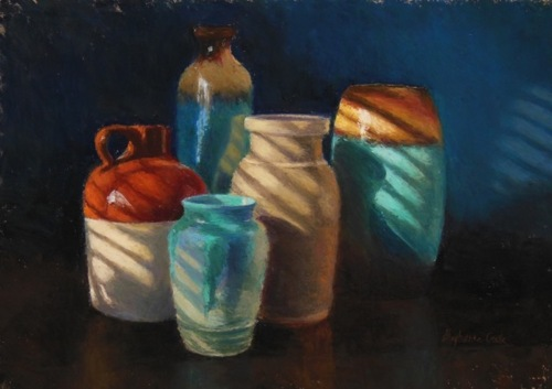 Scapes/Interiors, 1st Place - Stephanie Cook by Pastel Society of  New Jersey