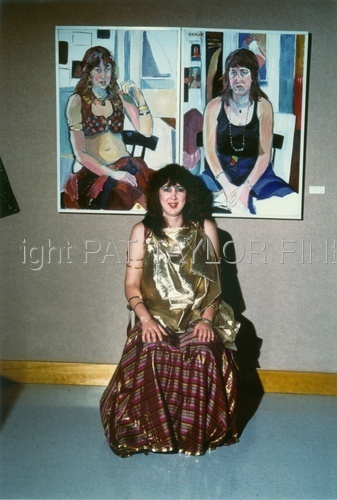 Lanora and Two Portraits by Pat Taylor
